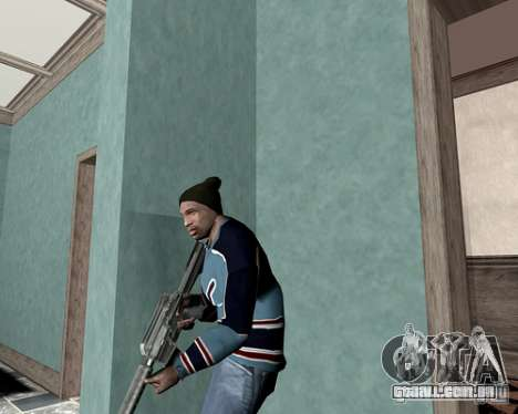Tampa do sistema para GTA San Andreas segunda tela