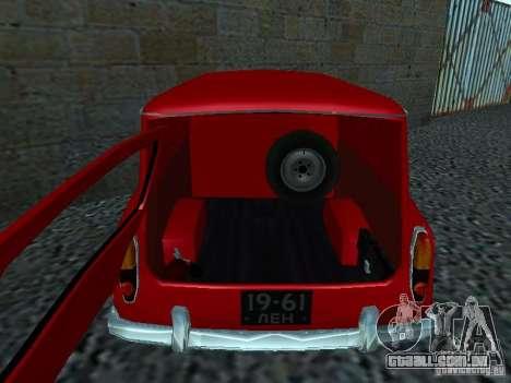 Moskvich 430 para GTA San Andreas vista direita