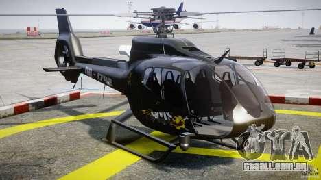 Eurocopter 130 B4 para GTA 4 vista de volta