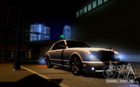 Bentley Arnage para GTA San Andreas interior