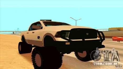 Dodge Ram 2500 4x4 para GTA San Andreas