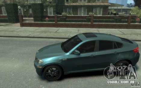 BMW X6-M 2010 para GTA 4 esquerda vista