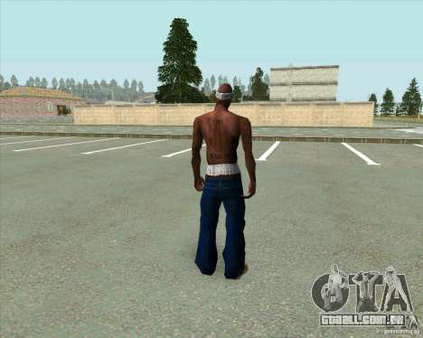 2Pac para GTA San Andreas terceira tela