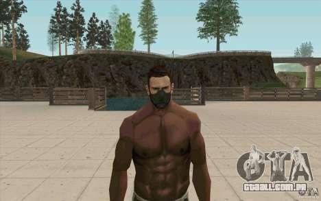 Máscara de perseguidor para GTA San Andreas