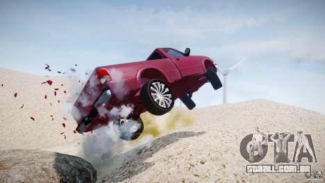 Ford Ranger para GTA 4 interior