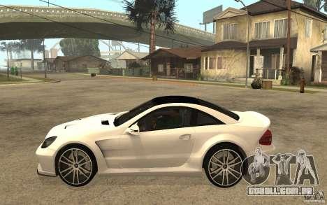 Mercedes-Benz SL65 AMG BS para GTA San Andreas esquerda vista