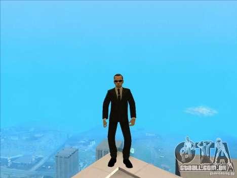 Matrix Skin Pack para GTA San Andreas sétima tela