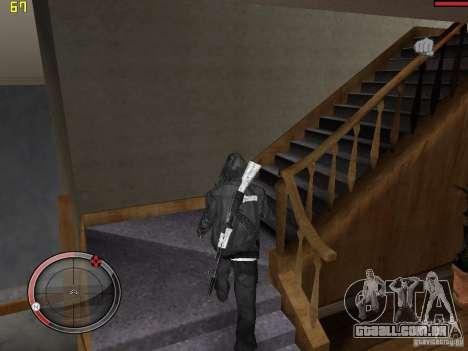 Walk style para GTA San Andreas terceira tela