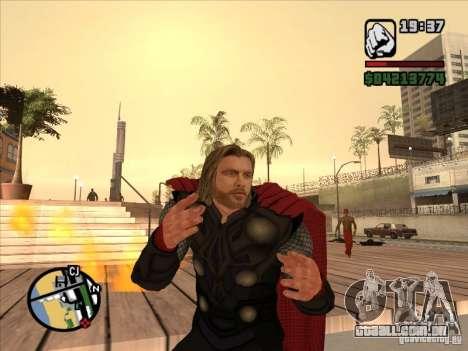 Thor para GTA San Andreas segunda tela