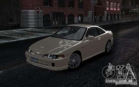 Honda Integra Type R para GTA 4 traseira esquerda vista