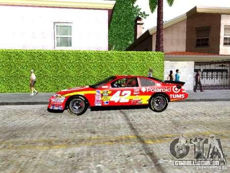 Chevrolet Impala SS Nascar Nr.88 para GTA San Andreas esquerda vista