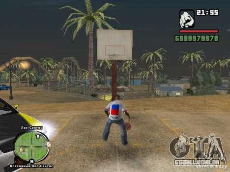 Futebol na Rússia para GTA San Andreas terceira tela