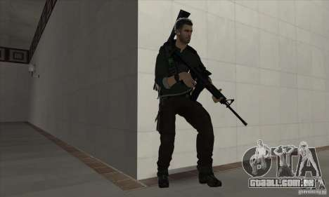 Sam Fisher para GTA San Andreas segunda tela