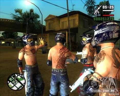 Novas skins para Groove para GTA San Andreas