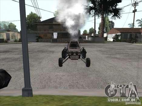 Turbo car v.2.0 para GTA San Andreas traseira esquerda vista