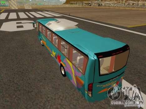 Mercedes-Benz Vissta Buss LO para GTA San Andreas vista traseira