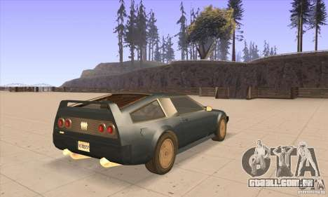 Deluxo HD para GTA San Andreas vista direita