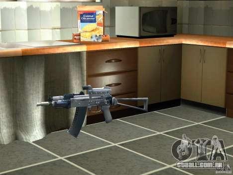 Pak versão doméstica de armas 3 para GTA San Andreas