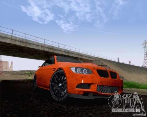 BMW M3 GT-S Fixed Edition para GTA San Andreas esquerda vista