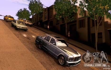 Bentley Arnage R 2005 para GTA San Andreas vista interior