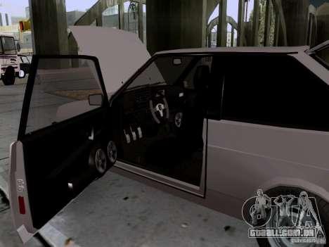 Dreno VAZ 2108 para vista lateral GTA San Andreas