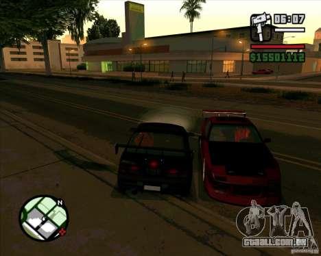 MAZDA FC3S DRIFT TUNE para GTA San Andreas esquerda vista