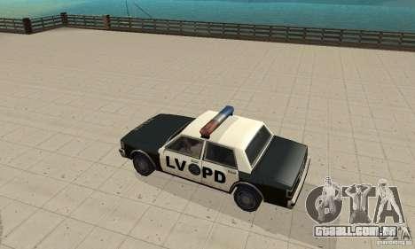 Luzes estroboscópicas 2 para GTA San Andreas segunda tela