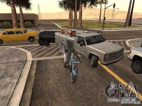 Carros com trailers para GTA San Andreas por diante tela