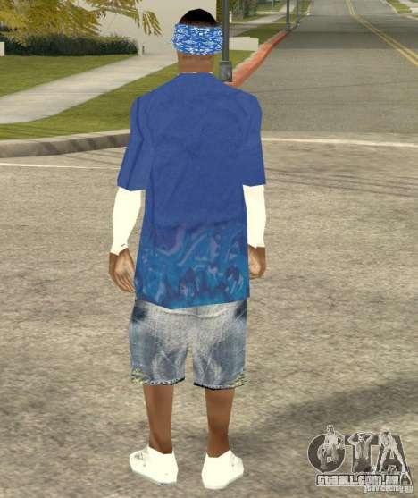 Compton Crips para GTA San Andreas por diante tela