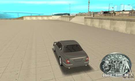 Velocímetro v. 2.0 para GTA San Andreas terceira tela