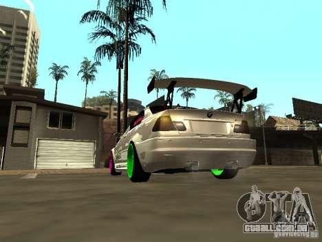 BMW M3 E46 v1.0 para GTA San Andreas esquerda vista