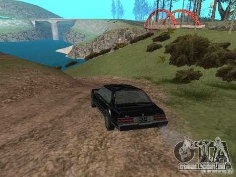 Romano é taxi do GTA 4 para GTA San Andreas traseira esquerda vista