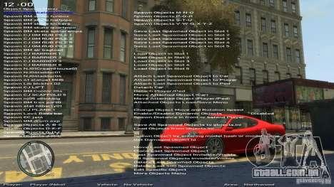 Simples Trainer versão 6.2 para 1.0.6.0-1.0.7.0 para GTA 4
