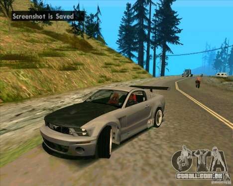 Ford Mustang GTR para GTA San Andreas