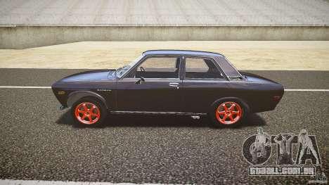 Datsun Bluebird 510 Tuned 1970 [EPM] para GTA 4 esquerda vista