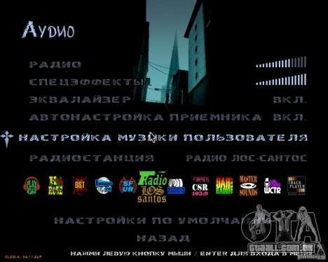 NewFontsSA 2012 para GTA San Andreas por diante tela