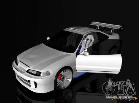 Honda Integra TUNING para GTA San Andreas esquerda vista