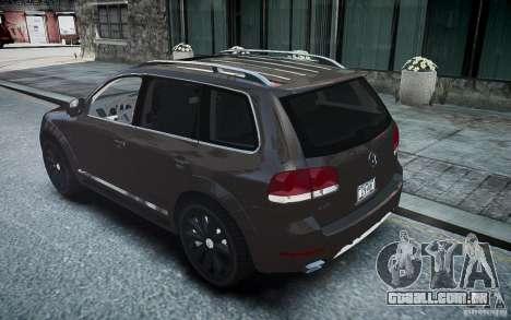 Volkswagen Touareg R50 para GTA 4 esquerda vista