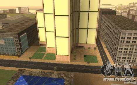 Arranha-céus em San Fierro para GTA San Andreas terceira tela