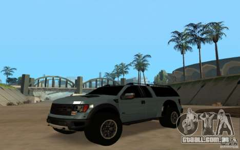 Ford Velociraptor para GTA San Andreas vista direita