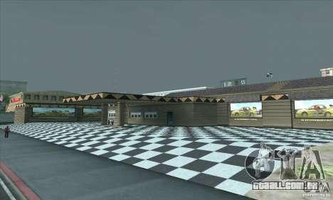 A garagem atualizada CJ em SF para GTA San Andreas terceira tela