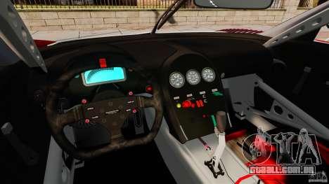 Bugatti Veyron 16.4 Body Kit Final Stock para GTA 4 vista de volta