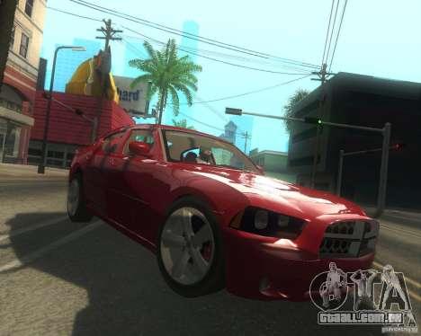 Dodge Charger 2011 para GTA San Andreas vista interior