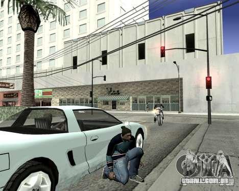 Tampa do sistema para GTA San Andreas quinto tela