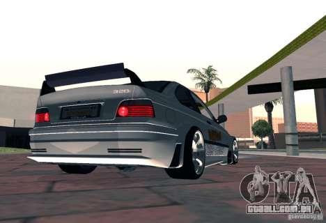 BMW M3 MyGame Drift Team para GTA San Andreas esquerda vista