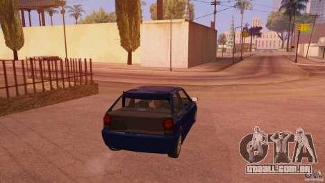 Volkswagen Gol G4 para GTA San Andreas traseira esquerda vista