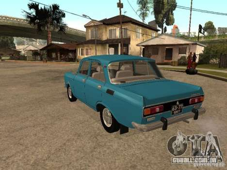 2140 AZLK v2 para GTA San Andreas vista direita