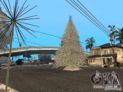 Véspera de ano novo no Grove Street para GTA San Andreas