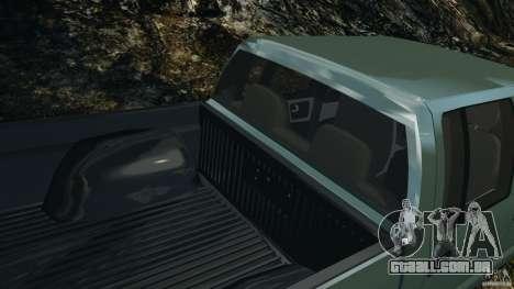 Chevrolet S-10 Colinas Cabine Dupla para GTA 4 motor