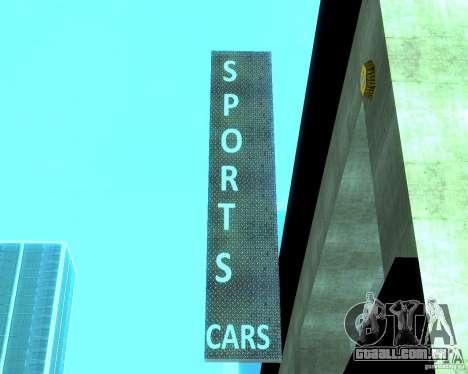 HD Motor Show para GTA San Andreas sexta tela